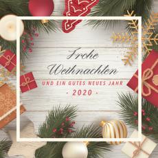 Weihnachts- & Neujahrsgrüße